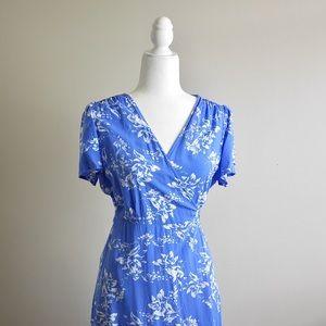 🧡GAP Maxi Wrap Up Dress